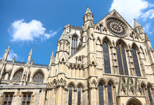 Cathedral In York,Yorkshire England