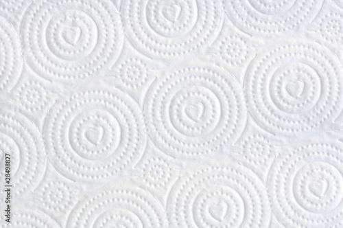 Texture of white tissue paper Fototapeta
