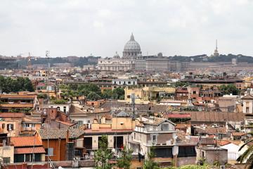 Fototapeta na wymiar Rome cityscape