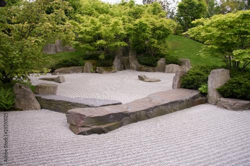 Photo sur Plexiglas Zen pierres a sable Japanischer Garten in Berlin, Gärten der Welt