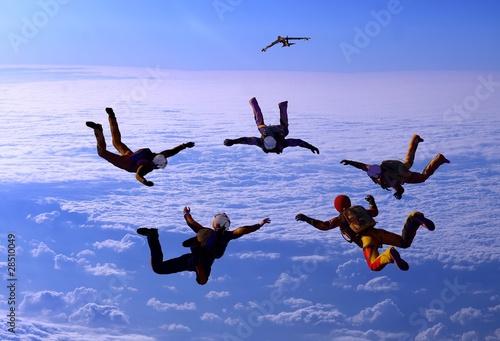 Foto op Canvas Luchtsport Sport is in sky