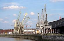Harbor Cranes Antwerp