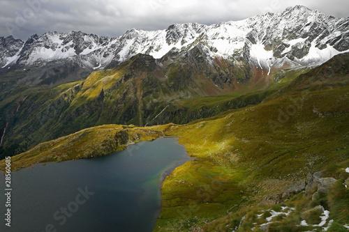 Keuken foto achterwand Bergen Black Lake