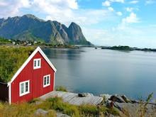 Red House In Lofoten