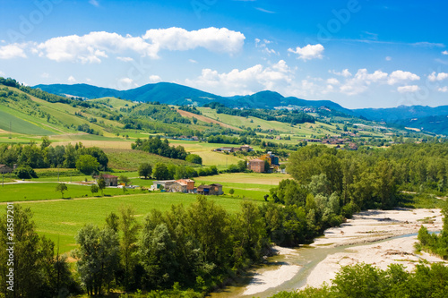 Poster de jardin Colline Beautiful italian hills