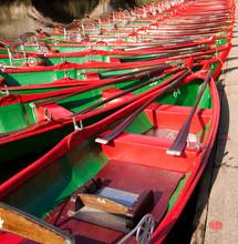 Boats Moored On The River Nidd, Knaresborough