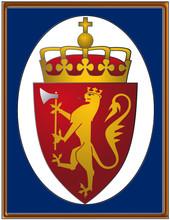 Norway National Emblem Coat Frame