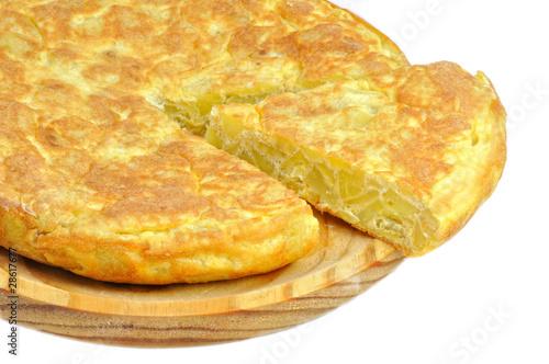 Fotografie, Obraz  Tortilla de patata.