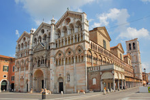 Italy Ferrara St George Cathedral