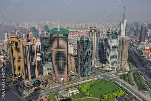 Photo  China Shanghai Pudong skyline