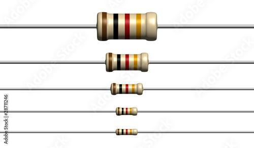 Canvas Print Resistors