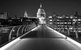 Fototapeta Londyn - Millenium Bridge