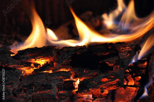 Fotobehang Vuur fire