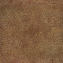 Tileable Cracked Soil Texture