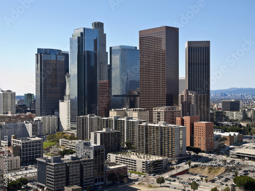 Photo Stands Los Angeles Clear Day LA