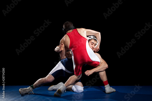 Obraz Wrestling - fototapety do salonu