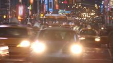 Night Street Time Lapse