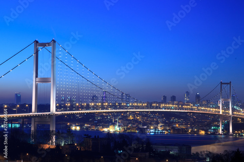Stampa su Tela Bosphorus Bridge