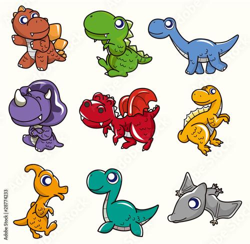ikona-kreskowka-dinozaur