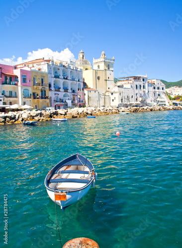 Fotomural Ischia Ponte,Insel Ischia,Italien