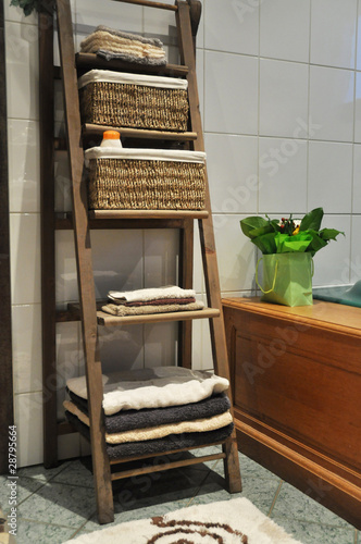 Photo Rangement salle de bain