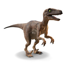Fototapeta 3d Velociraptor