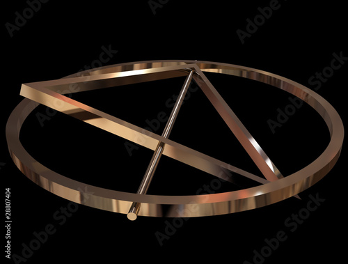 Fotografia Deathly Hallows sign
