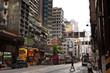 Straße Hongkong