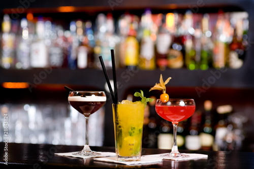 Fotografie, Obraz  Cocktail Alkohol Party Bar