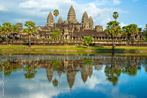 Photo  Angkor Wat, Siem reap, Cambodia.