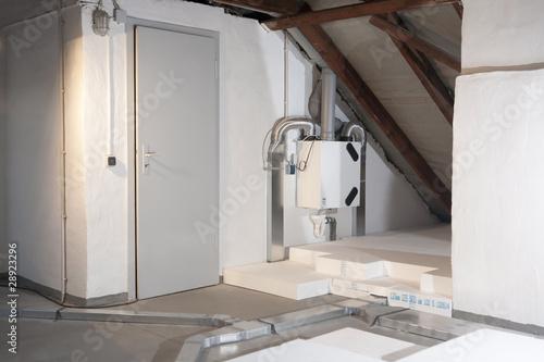 Valokuva  kontrollierte Wohnraumlüftung mit Wärmerückgewinnung