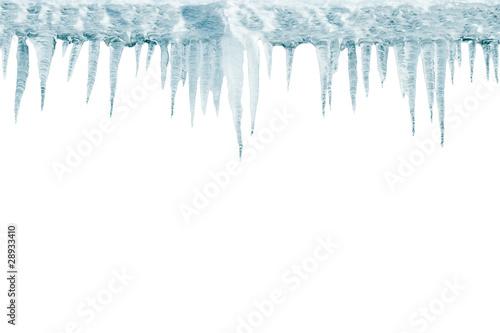Fototapeta Stalattiti  di ghiaccio obraz