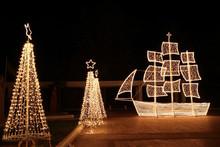 Traditional Greek Christmas Ship
