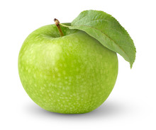 Isolated Apple. Green 'granny ...