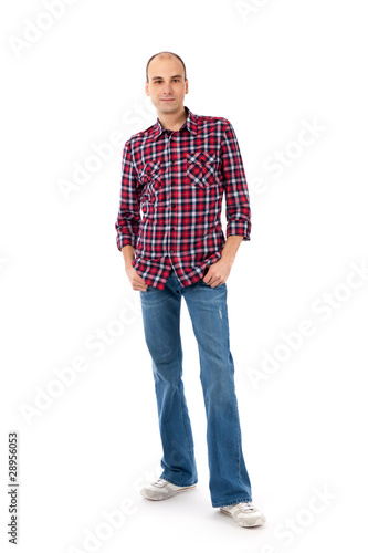 f6ffe33a831 young casual man full body - Buy this stock photo and explore ...