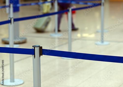 Gymnastique Flughafen-Absperrung