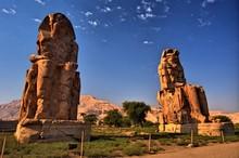 The Colossi Of Memnon (1350 BC...