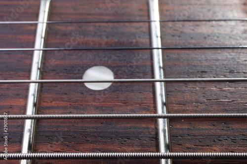 Spoed Foto op Canvas Muziekwinkel manche de guitare