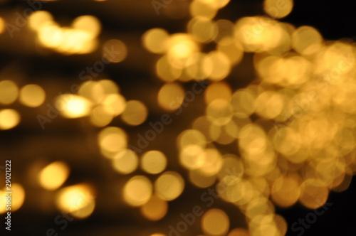 Fotografie, Obraz  abstrakte Lichtpunkte