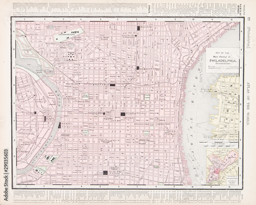 Vintage Color City Street Map Philadelphia, Pennsylvania, USA - Buy on bing driving maps usa, city street view usa, magnets usa, driving road map usa, county maps usa, google maps new jersey usa, 10 day weather map usa, highway maps usa, interstate maps usa, city parking usa, city road map usa, landscape maps usa, maryland map usa, city of university city mo, detroit map usa, new york on map of usa, main street usa, colorado road map of usa, historical map of usa, topographical map usa,