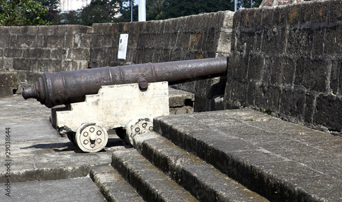 Old Canon in Manila