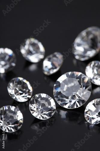 Okleiny na drzwi - przestrzenne 3D  brilliant-diamond