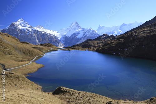 Staande foto Nieuw Zeeland スイス、バッハアルプゼー
