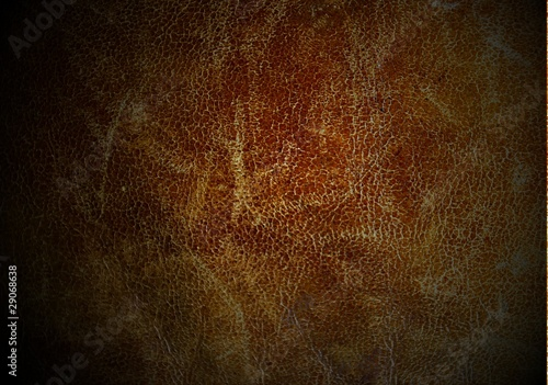 Ingelijste posters Leder Texture of old used leather