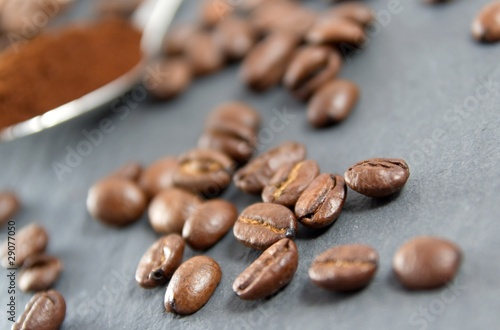 Canvas Prints Coffee beans Coffees