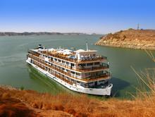 Luxury Nile Cruise At Lake Nasser, In Abu Simbel, Aswan (Egypt)