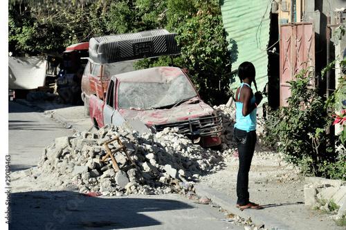 Haiti Earthquake 2010 Fototapeta
