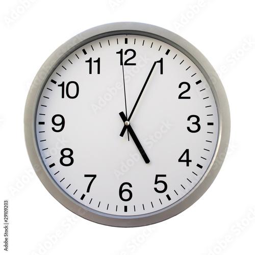 Fotografía  ... o'clock
