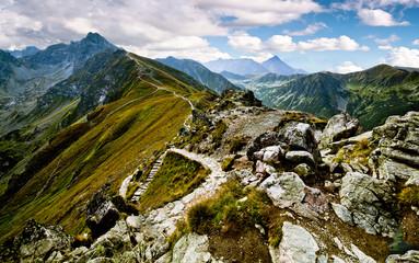 Panel Szklany Podświetlane Do biura Mountain landscape