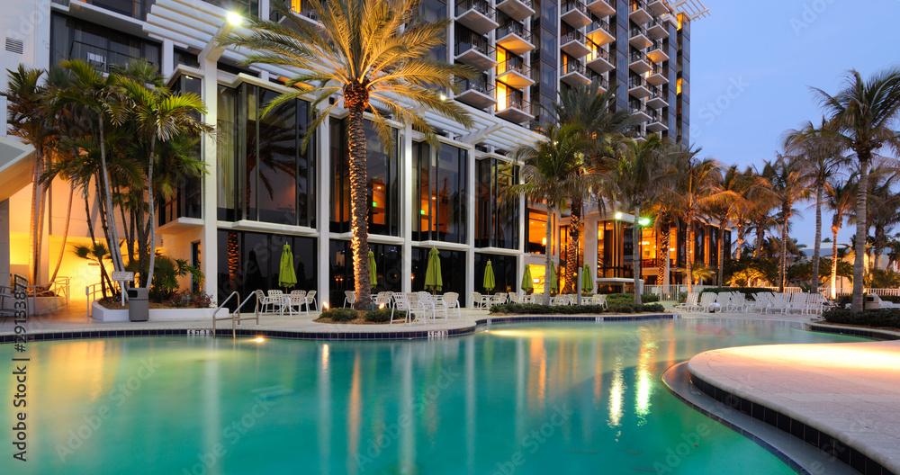 Fototapeta Resort Swimming Pool